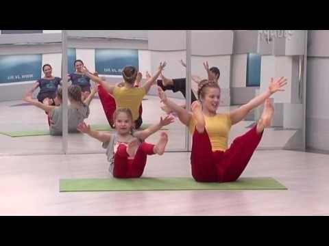 Семейная йога для детей и взрослых