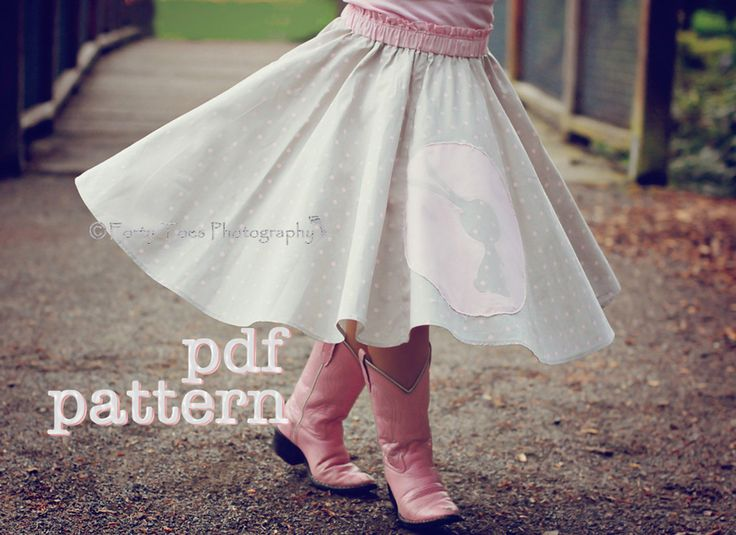 Pdf Twirly Whirly Circle Skirt Pattern For Babies