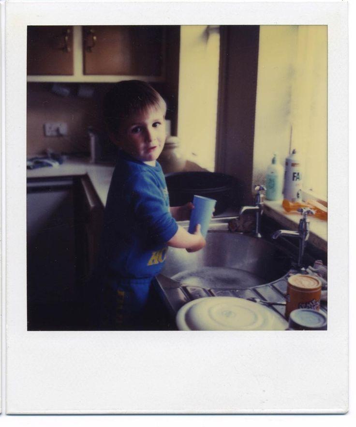 SX70 Polaroid Photographs 1989. Stephen Concannon, 71 Lime Tree Rd, Bham, UK