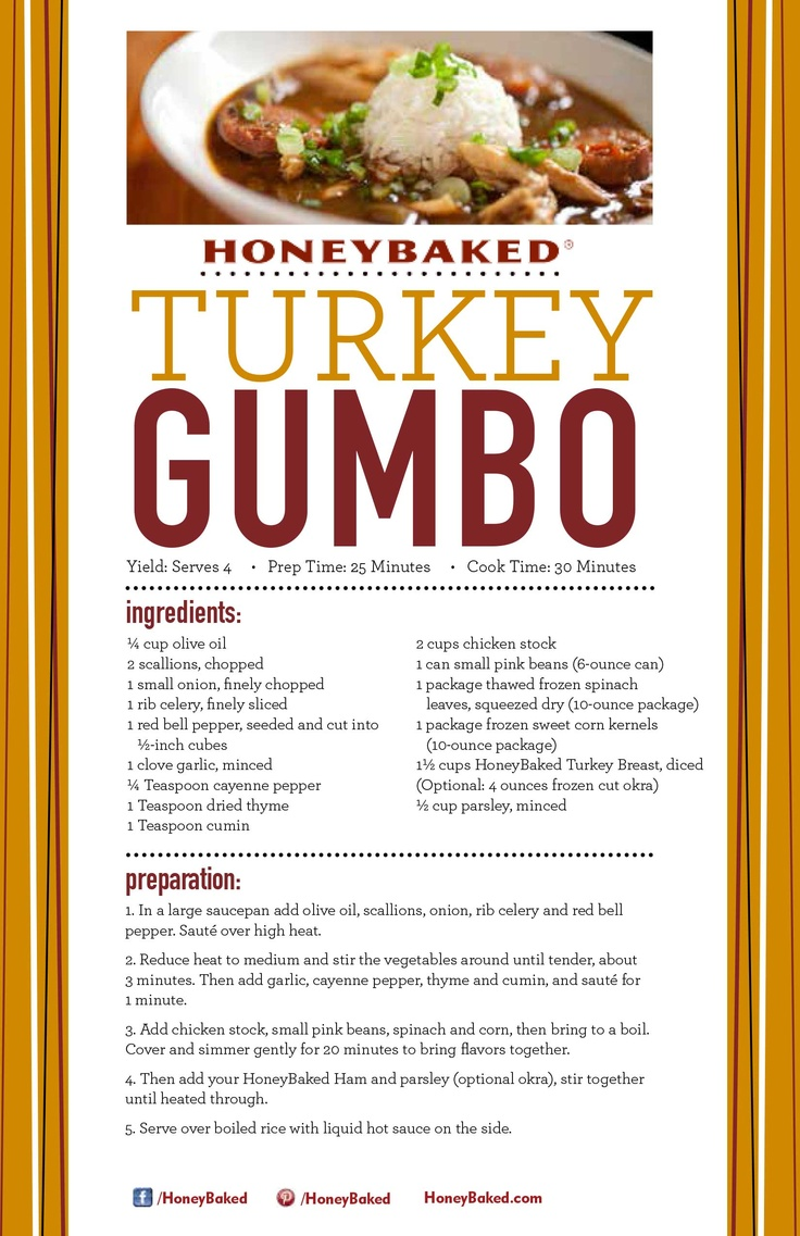 how to cook honey baked ham turkey