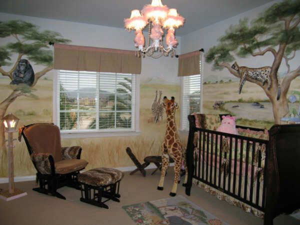comfortable baby room