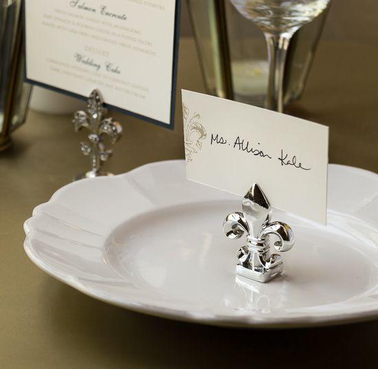 74 best Fleur de Lis Wedding Theme images on Pinterest | Place ...