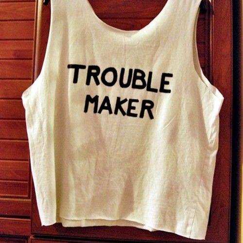 Bluzka Trouble Maker