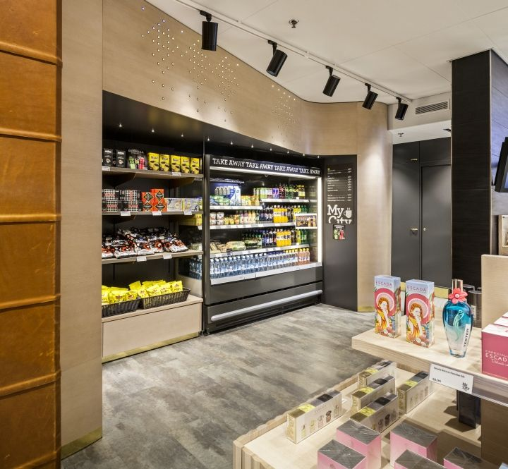 My City Shop & Café at Helsinki Airport by Teemu Nojonen, Helsinki – Finland » Retail Design Blog