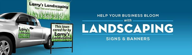 Image result for landscaping company signage