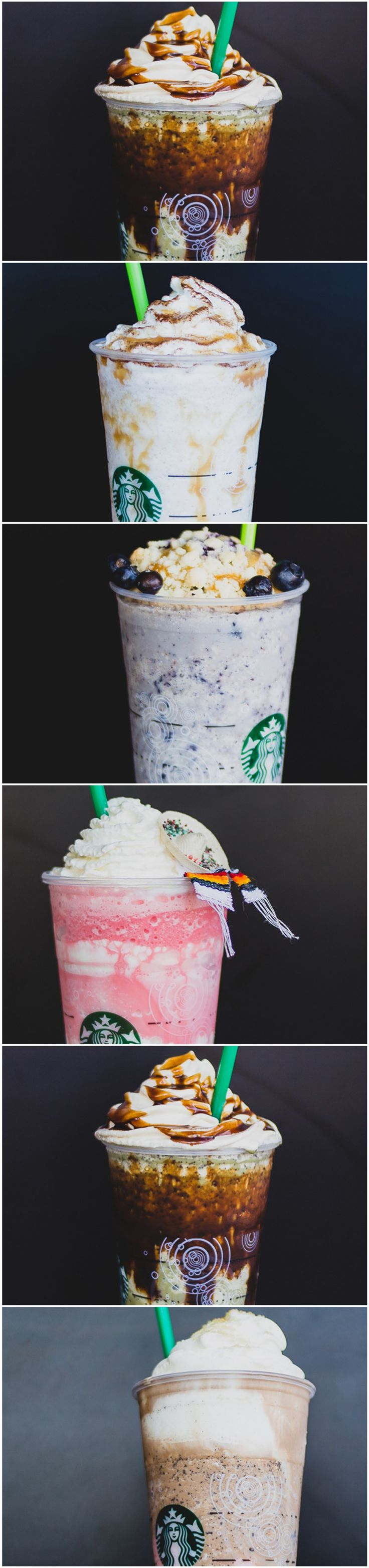 We asked a few different Starbucks baristas in Santa Ana, Calif., to surprise us recently — and the results were beautiful.
