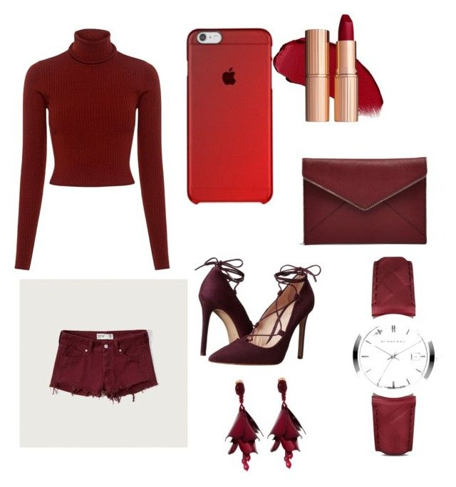 """Untitled #5"" by sofiaskvrekova on Polyvore featuring A.L.C., Abercrombie & Fitch, Massimo Matteo, Rebecca Minkoff, Burberry and Oscar de la Renta"