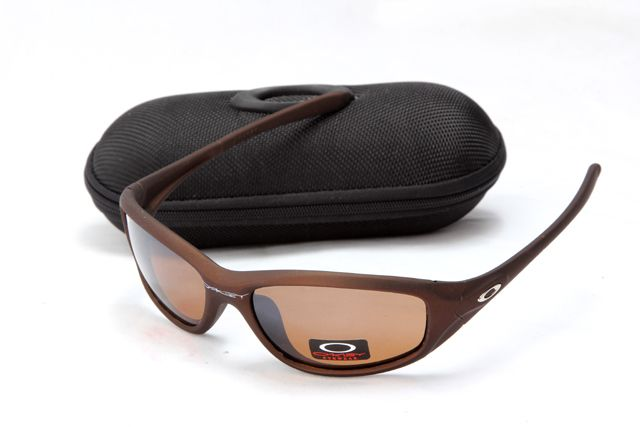 Oakley Minute Sunglass Brown Silver Frame Brown Lens Sale Online