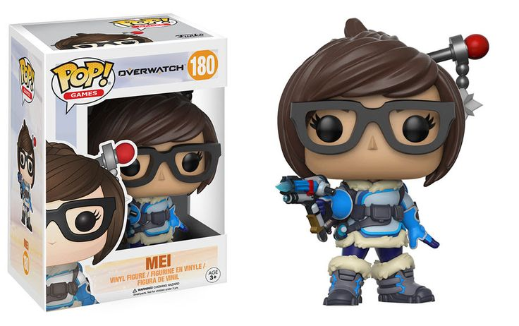 New Overwatch Pop! figures are coming   Funko has revealed new Overwatch Pop! figures including Mei McCree Symmetra andLúcio. Theyll be joining Tracer Winston Reaper and Widowmaker.  And if you want super-sized Pop!s you can get D.Va and Reinhardt each standing 6 tall. (D.Va is actually 1.75 tall but you can put her inside her MEKA.)  There will also be exclusives with a different skin includingReinhardt without a helmet (only at Best Buy) McCree in his Summer Games skin (available at…