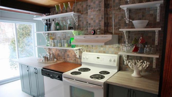 Les 107 meilleures images propos de cuisine sur for Etagere dessus evier cuisine