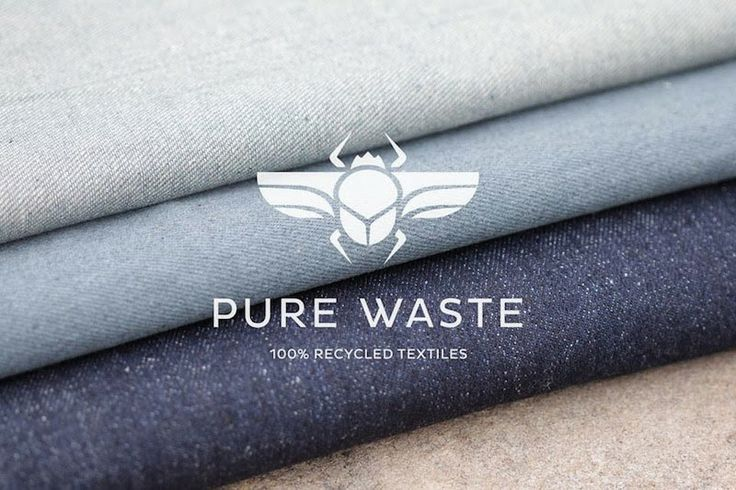 100% recycled denim is a Finnish innovation, by Pure Waste Textiles.