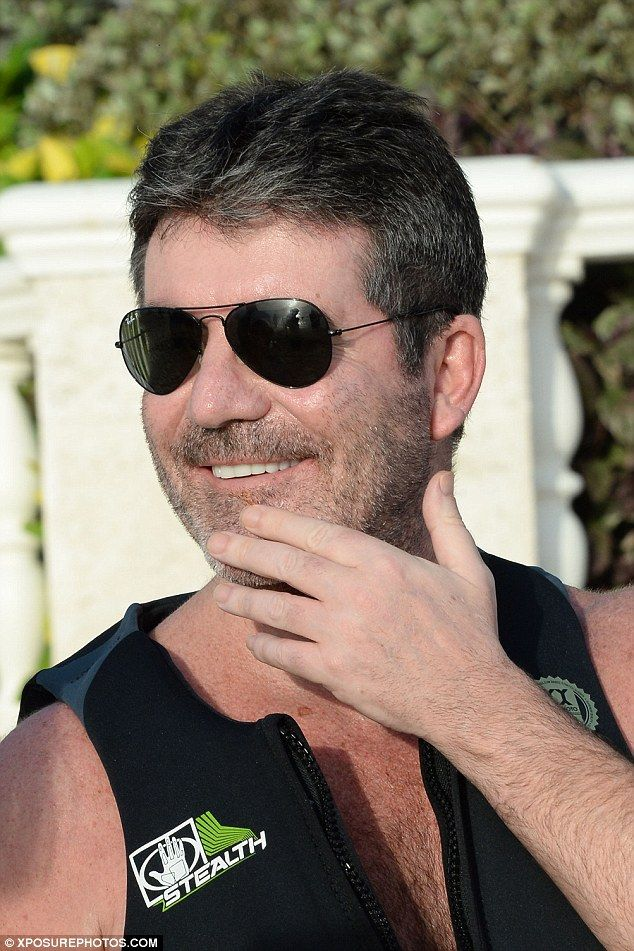 Simon Cowell Joins Lauren and Eric On The Beach