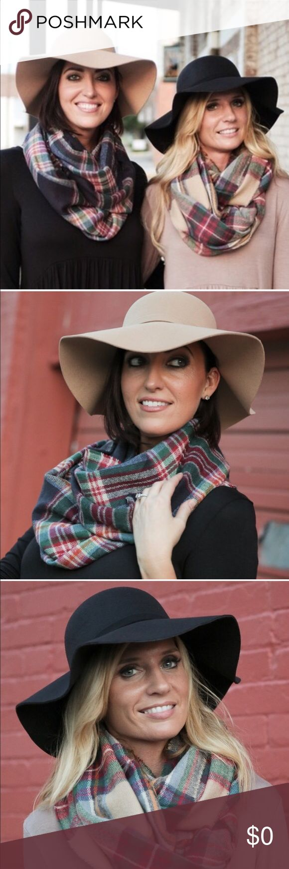 Chic Boho Hats Colors available are black, tan,  and burgundy. These fashionable hats attract attention. You will be able to select color when you click buy or purchase icon. Thank you for visiting my boutique! Infinity Raine Accessories Hats
