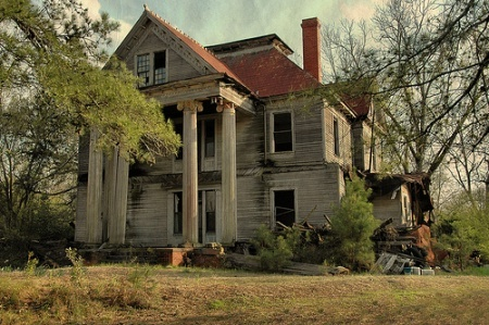 """You have to read the comments that have been left for this photo on VSG. So terribly sad! Heartbreaking, really. """"McRainey House"""",Elmodel, GA. By Brian Brown of Vanishing South Georgia."""