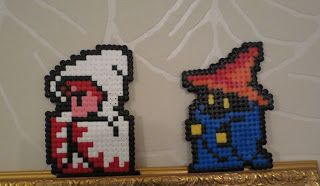 Final Fantasy 8-bit Hama beads