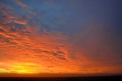 Sunset from Big Hill Stawell 10 Jan 2015