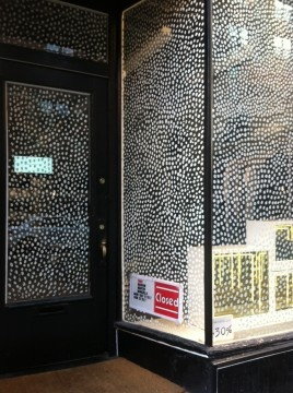 """may have to make """"snow"""" dots on all the windows!"""