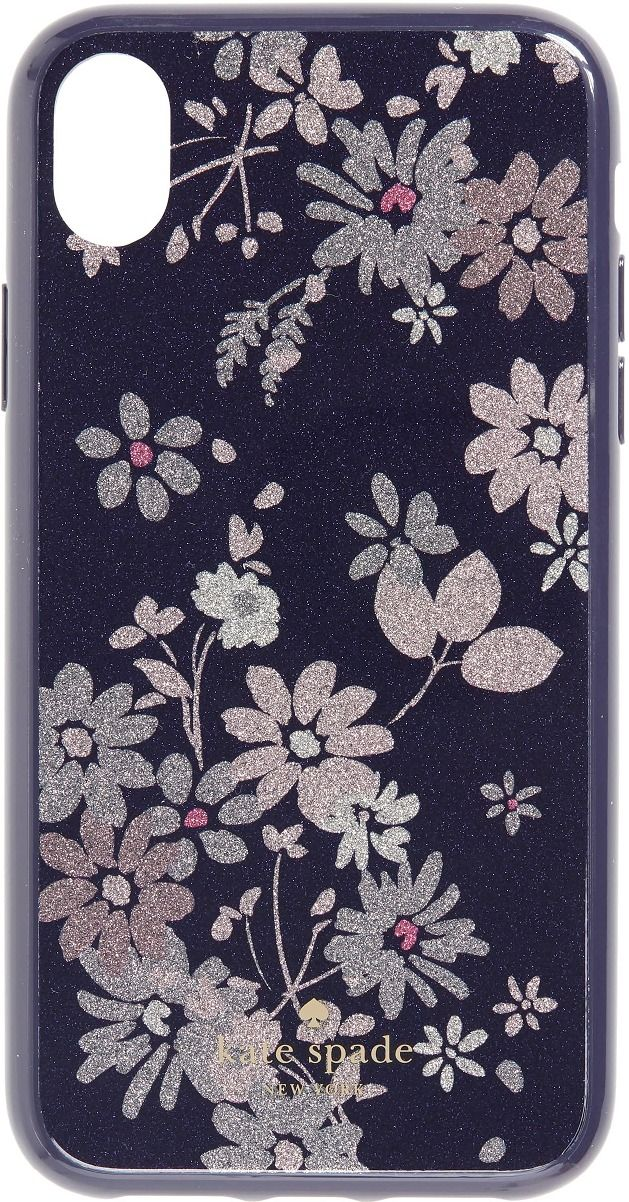 ba5af37be6 KATE SPADE NEW YORK Glitter Petite Posy iPhone X/Xs, Xs Max & XR Case. Ad.  #iphonecases #purpleiphonecase #floraliphonecase #floweriphonecase  #phonecases ...