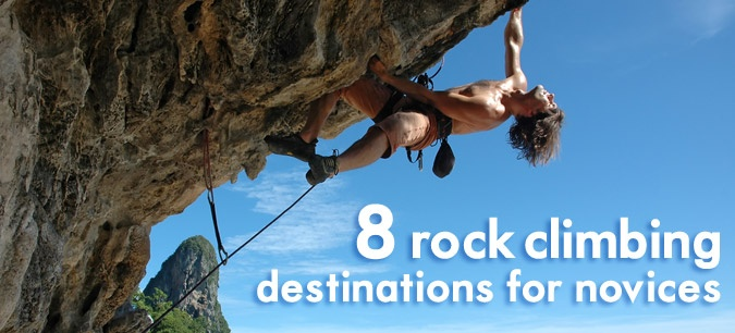 If you want to have a rock-climbing adventure but haven't climbed much before, here are some great places to start. #outdoors #climbing #travel