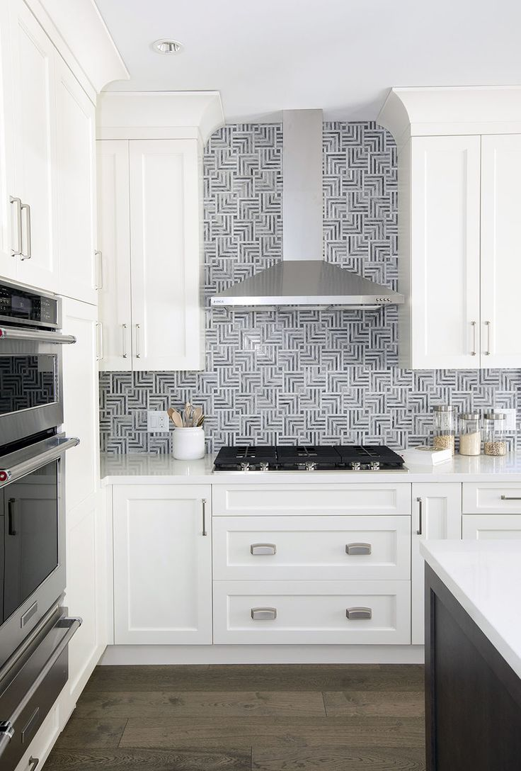 Love It Or List It Vancouver. How stunning is this backsplash in the kitchen??