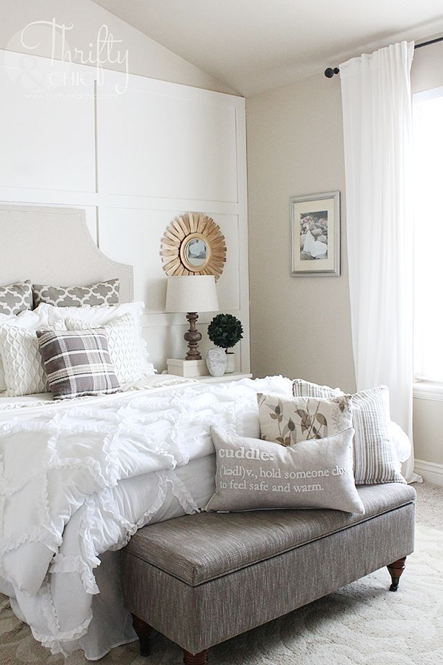 fall home tour part 2 and living room update neutral bedroom decor rh pinterest com