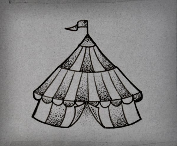 circus tattoo...I HAVE to have this on my skin! :D