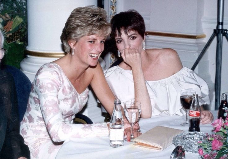 This is one of the times Princess Diana was happy; look at that smile!
