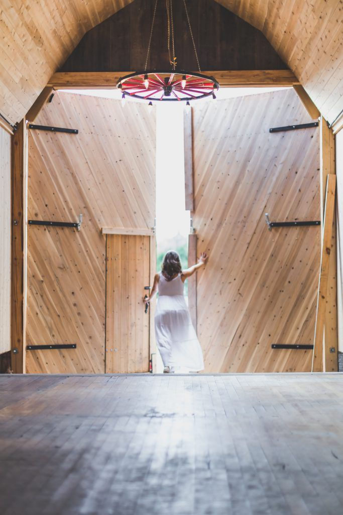 These are some stunning barn doors. Made by hand at La Grange Rouge.
