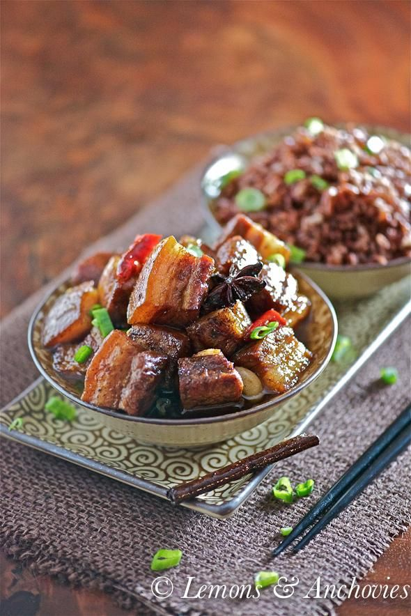 How To Make Braised Pork Belly Recipe - Pork Recipe.  Pair with semi-sweet traditional mead, accept no substitute beverage.