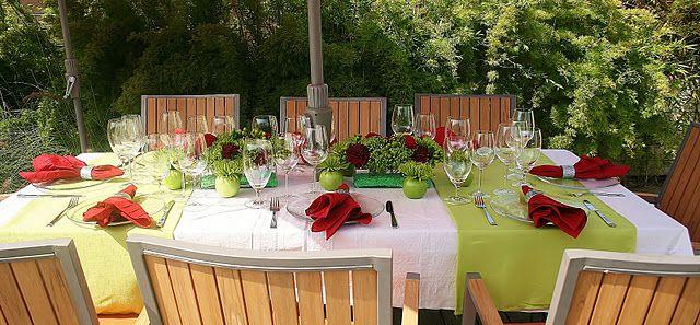 modern christmas table setting 3