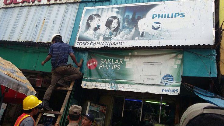 Penertiban Reklame di UPPD Jatinegara