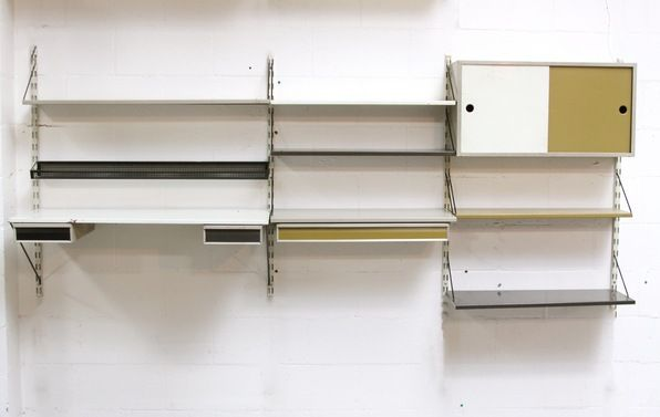 Pilastro 3 Section Industrial Wall Unit