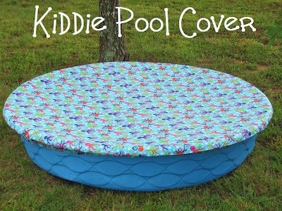Inflatable Pool Ideas outdoor play ideas happy hooligans backyard play ideas Mama To Three Chicks Kiddie Pool Cover