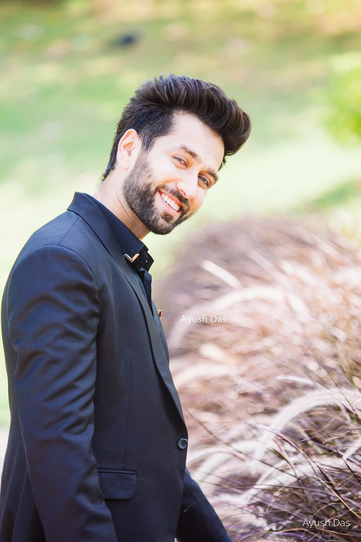 Nakuul Mehta on the sets of Star Plus' ISHQBAAAZ