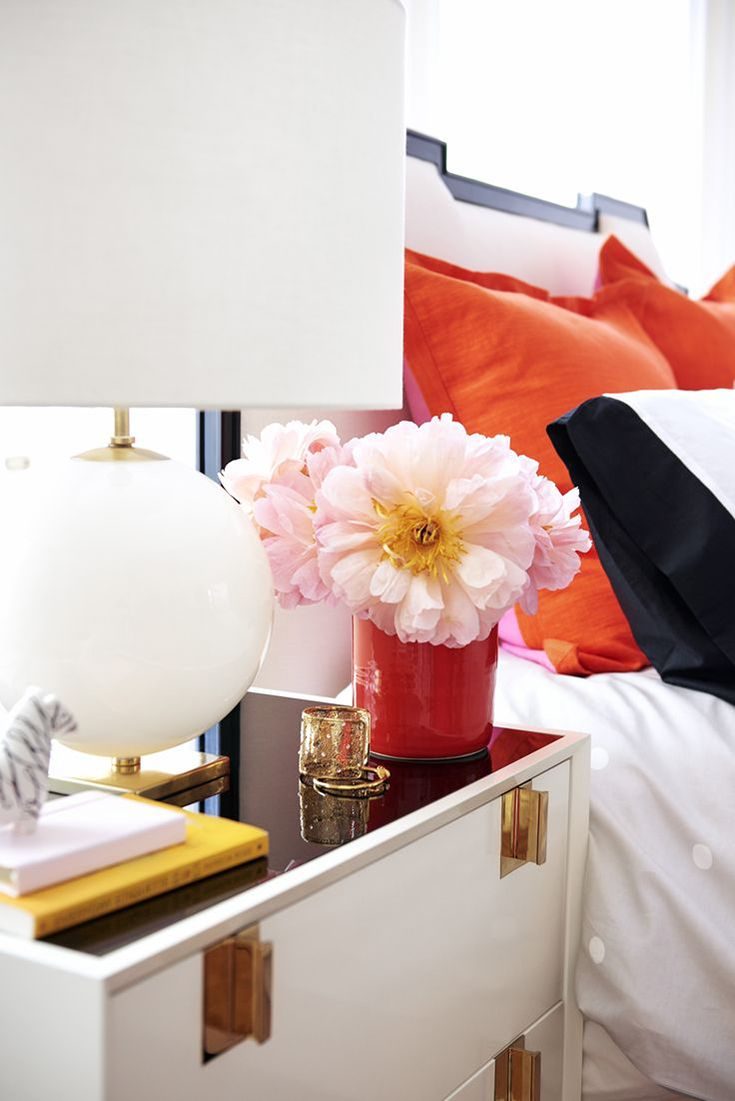 The Kate Spade Home Decor line is glam, girly, pink and chic! The feminine curves of the sofa and playful polka dots make the Kate spade home living collection a perfect addition to your home decor.