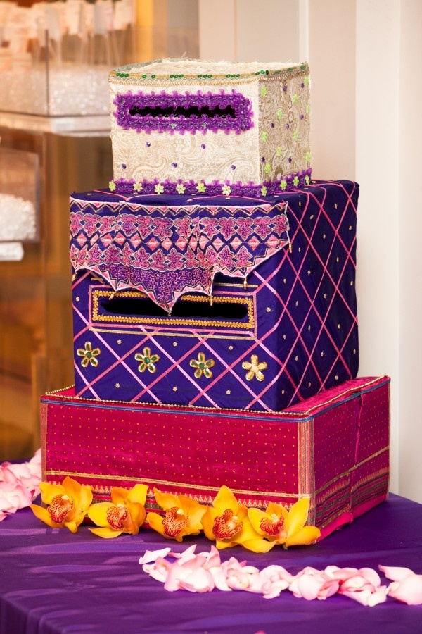 wedding gift card holders%0A Indian Inspired Card Boxes