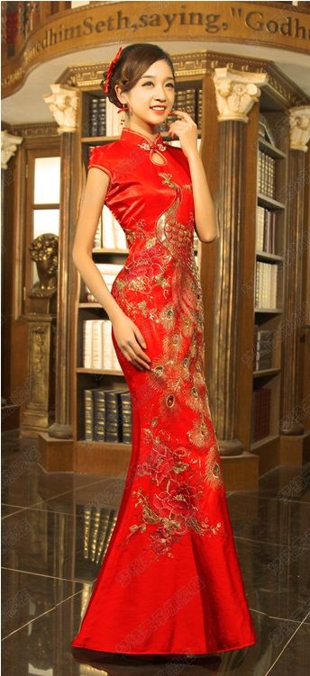 Chinese wedding dress QiPao Kwa Cheongsam 20 - latest fashion Custom Make Avail