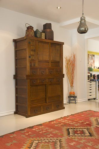 Kitchen remodel blog.  Love the stand alone cabinet from Greentea furniture.