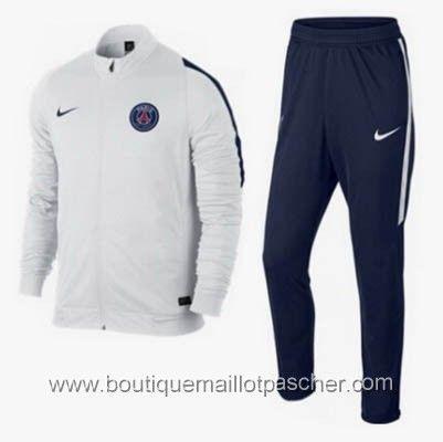 Veste pas cher PSG 2016 Blanc