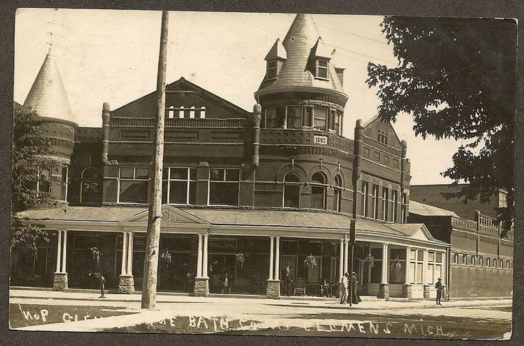 1000 images about historic mount clemens on pinterest for Bath house michigan