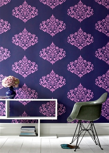 18 best images about navy and pink on pinterest midnight for Wallpaper designs for bedroom indian