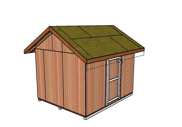 10 12 Gable Shed Roof Plans Roof Repair Diy Shed Roof Repair