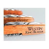 Ring Bearer Gift Ideas - Ring Bearer Customized Wooden Pocket Knife
