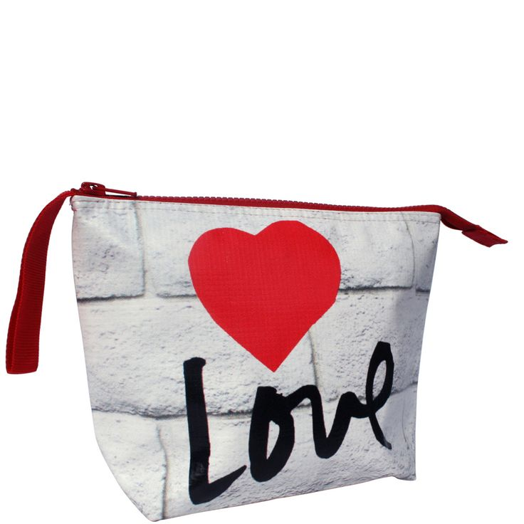 Love toiletry bag. cute present for someone you love ~!