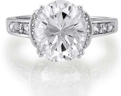 #Berricle                 #ring                     #Sterling #Silver #Oval #Cubic #Zirconia #Solitaire #Ring #w/Side #Stones ##r132                        Sterling Silver Oval Cut Cubic Zirconia Solitaire Ring w/Side Stones #r132                              http://www.seapai.com/product.aspx?PID=1265071