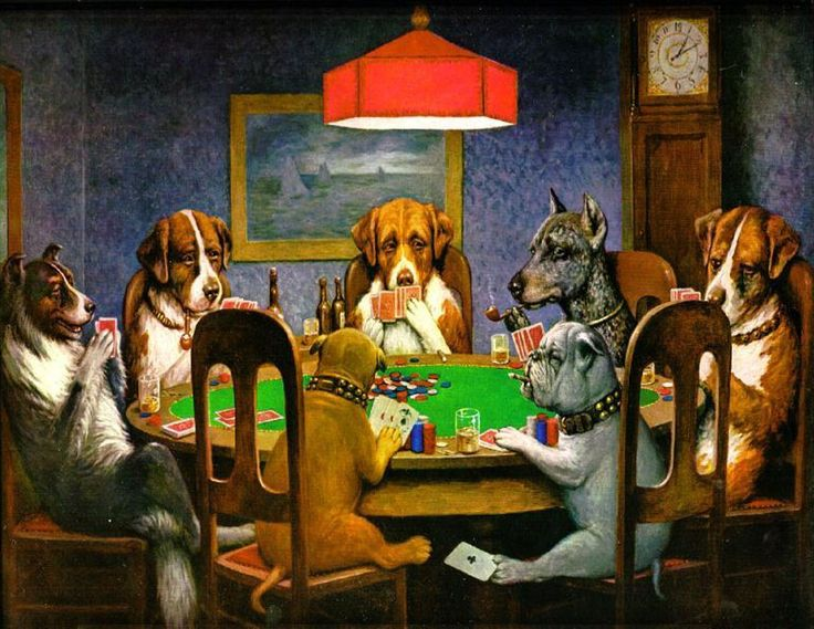 >> Click to Buy << Modern Animal Painting Home Decor Art Dogs Playing Poker A Friend in Need by C.M.Coolidge Oil Painting Reproductions Handpainted #Affiliate