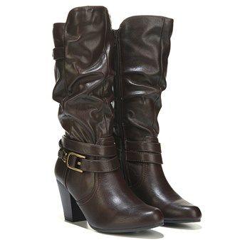 White Mountain Gratify Boot Dark Brown