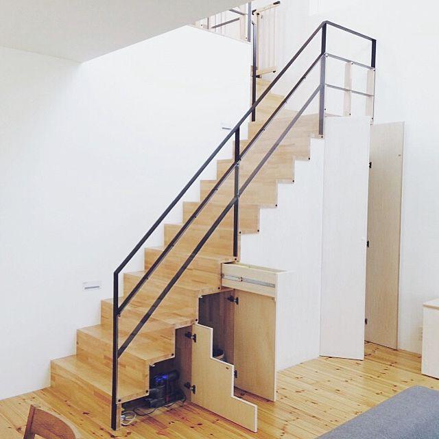 階段/階段下収納/部屋全体のインテリア実例 - 2015-04-26 15:30:22   RoomClip(ルームクリップ)
