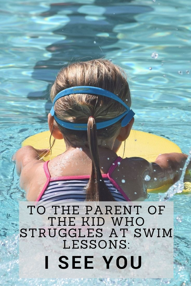 It is so hard when your child struggles with something like swimming lessons. I'm on the other side of it, but don't worry. I see you. #toddler #swim #struggles #swimlessons