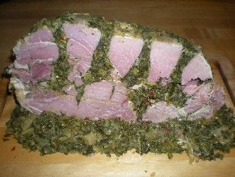 Southern Maryland Stuffed Ham, the greatest southern staple that nobody knows about. I DIE.